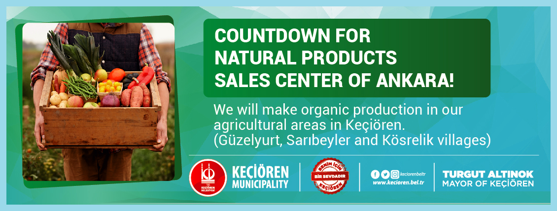 COUNTDOWN FOR NATURAL PRODUCTS SALES CENTER OF ANKARA