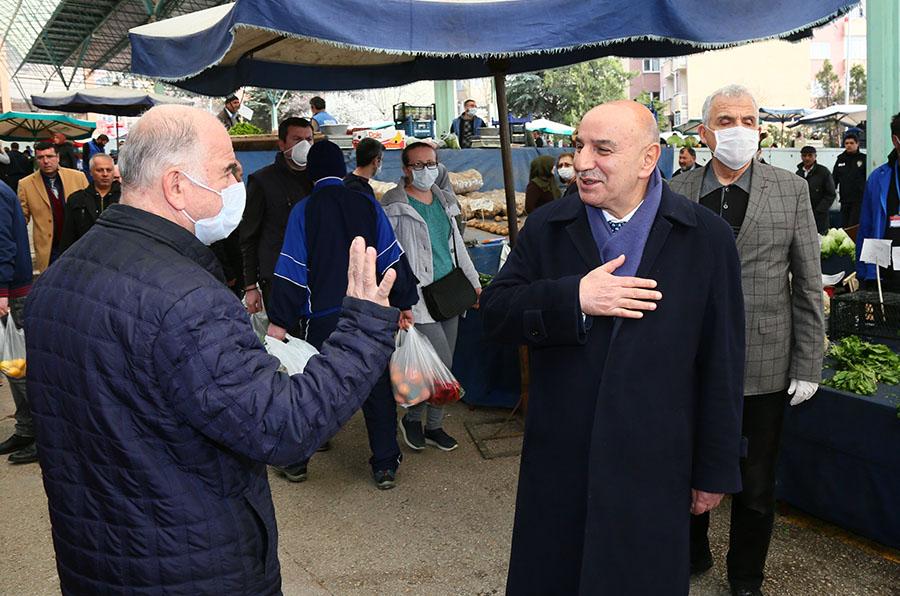 Başkan Altınok: Semt Pazarlarımız Tüm Türkiye'ye Örnek Oluyor