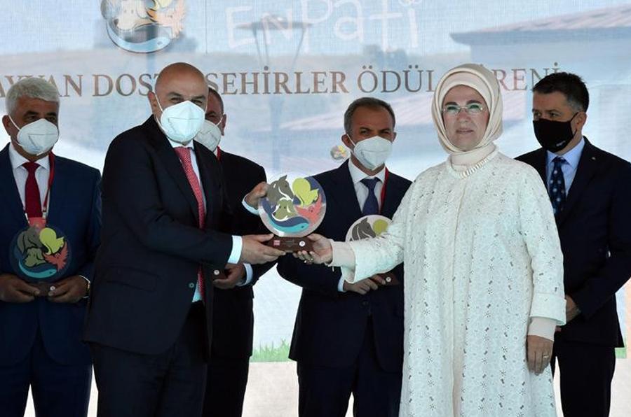 'Enpati Hayvan Dostu Şehirler'e Ödülleri Keçiören'de verildi