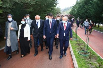 Bakan Murat Kurum Başkan Altınok'u ziyaret etti, millet bahçesini müjdeledi