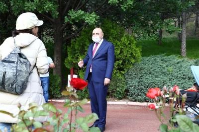 Başkan Altınok: Botanik Bahçemizi bitki cenneti haline getirdik