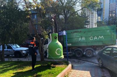 'Bin 70 ton' atık cam geri dönüşüme kazandırıldı