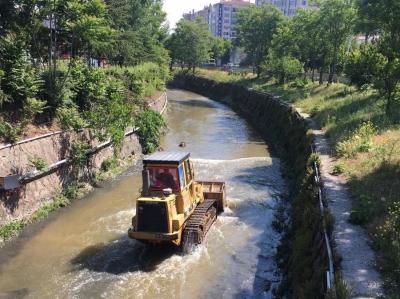 Keçiören Belediyesinden Gümüşdere'de yaz temizliği