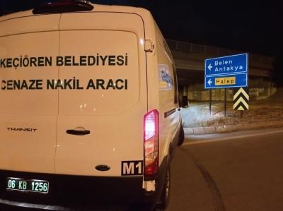 Keçiören'den Türkiye'nin dört bir yanına cenaze hizmeti