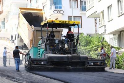 Keçiören'in tüm mahalleleri asfaltlanıyor