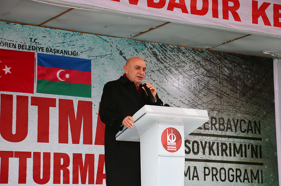 Khojaly Genocide Commemorated with Prayers in Keçiören on the 28th Anniversary