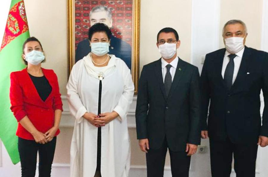Keçiören Belediyesinden Türkmenistan ile iş birliği adımı