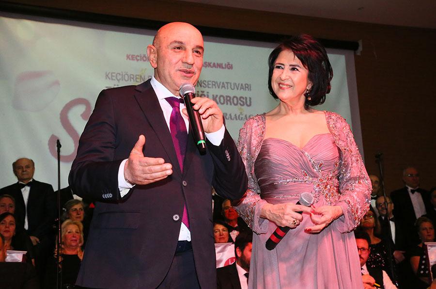 KEÇİÖREN'DE GÖNÜLLER SEVDA ŞARKILARI'YLA ŞENLENDİ
