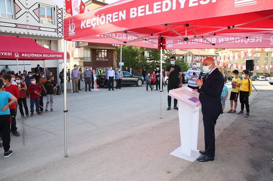 Keçiören'de Şehit Eren Bülbül Parkı açıldı