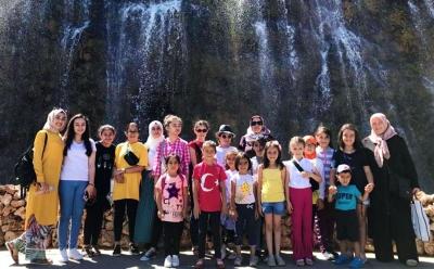 ÇANKAYA'DAN GELDİLER, KEÇİÖREN'İ GEZDİLER