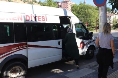 KEÇİÖREN'DE SPORSEVERLERE ÖZEL SERVİS ARACI HİZMETİ
