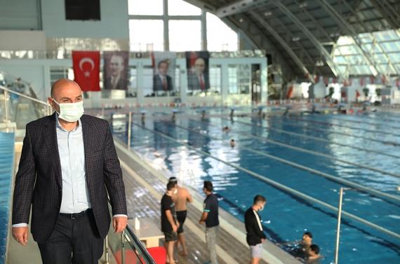 Başkan Altınok: Etlik'teki yüzme havuzumuzun Türkiye'de eşi benzeri yok