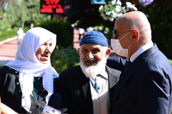 Başkan Altınok: Yaşlılarımızın mutluluğu, bizim mutluluğumuzdur