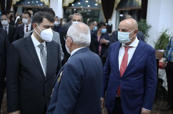 Başkan Altınok gazilerle buluştu