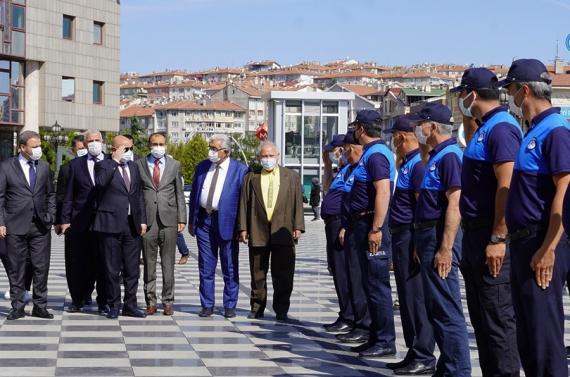 Başkan Altınok zabıta haftasını kutladı