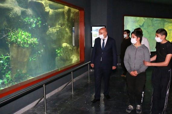 Başkan Altınok'tan 3d sinemalı sömestr hediyesi