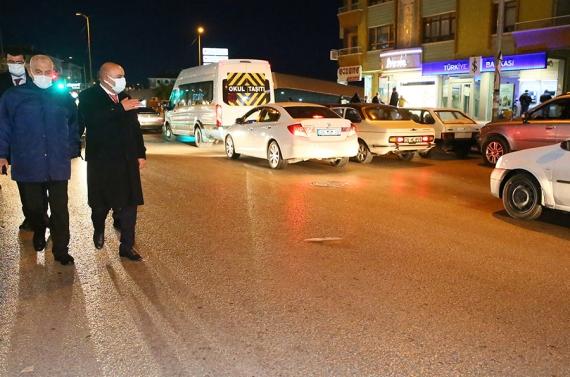 Başkan Altınok'tan tam gaz gece denetimi
