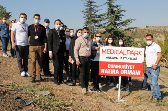 Keçiören Belediyesinden sağlık çalışanlarına anlamlı `29 Ekim` desteği