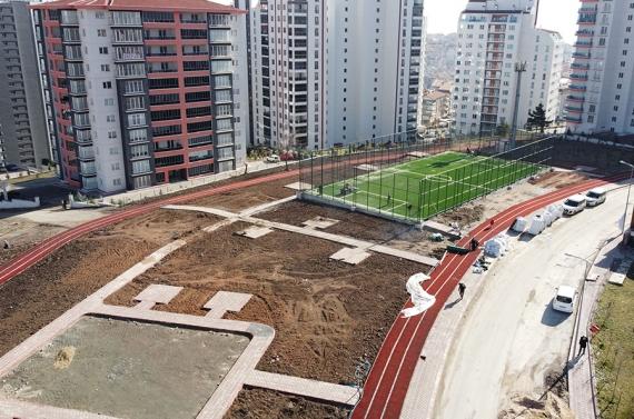 Keçiören Sancaktepe'ye 8 bin metrekarelik yeni spor kompleksi