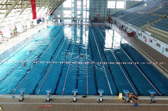 Olimpiyat standartlarında yüzme havuzu Keçiören'de
