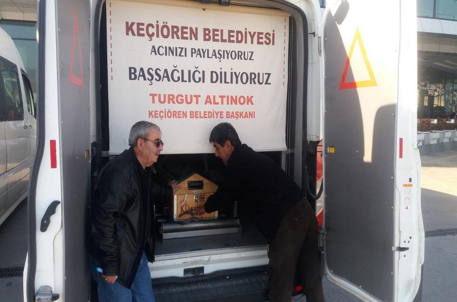 MOBİL CENAZE HİZMET ARACI İLE İŞLEMLER DAHA HIZLI
